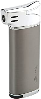 Vector Elio Flame Pipe Lighter with Tamper Gunmetal