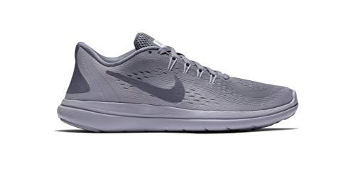 NIKE Women's Flex 2017 RN Running Shoe (7.5 B(M) US, Light Carbon/Light Carbon)