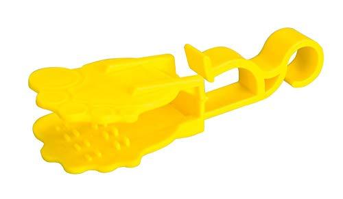 WENKO 4329101100 Sockenklammer Socky - 7er Set, mit Aufhänger, Kunststoff - Polypropylen, 4 x 7.5 x 1.3 cm, Mehrfarbig