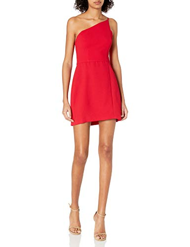 BCBGeneration Women's Mini Cocktail Dress, Ruby RED, 6