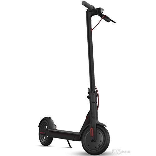elrofu E-Scooter MF365 350W 8AH 25 km/h Leistungstarker Elektroroller ohne Straßenzulassung E-Tretroller Tretscooter Schwarz