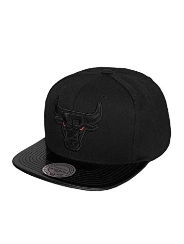 Mitchell & Ness Homme Casquettes/Snapback NBA Patent 2Tone Tonal Chicago Bulls