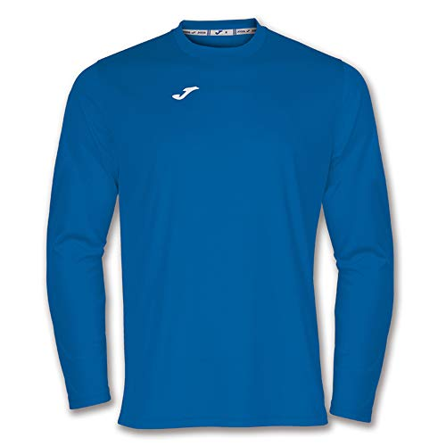 Joma 100092.700 T-Shirt Manches Longues Sportswear, Bleu Royale, FR : M (Taille Fabricant : M)