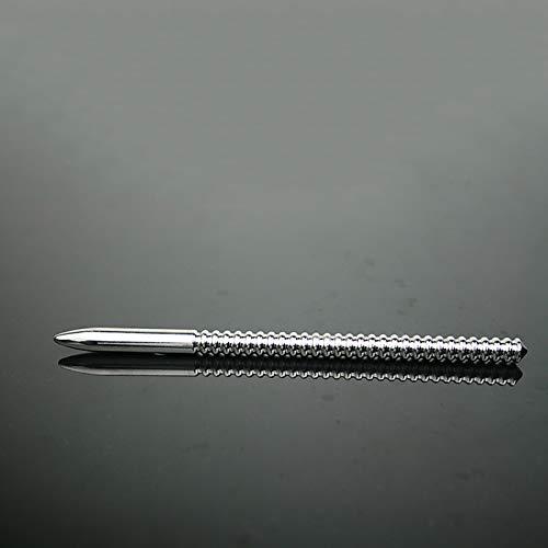 LBBDrrAL Empleable Urêthral C  Thetêr Màssàgê Herramienta de fabricación con Acero Inoxidable, acariciando su Interruptor de Seis Puntos de Seis Jeans