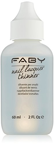 FABY Nail Lacquer Thinner, 1er Pack (1 x 60 ml)