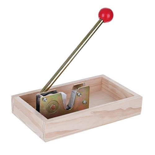 UNDER Nussknacker Holz, Sieger Nussprofi, Nussknacker Walnüsse Haselnuss Nußknacker Walnussknacker Haselnussknacker Zinkdruckguss Easy to use