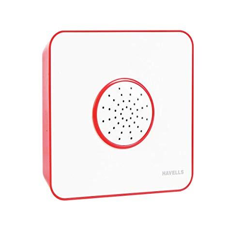 Havells Rubio Ding Dong Doorbell, RED