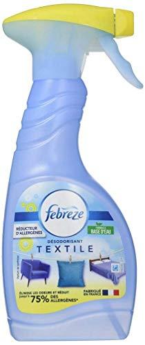 Febreze - Ambientador en spray, elimina los olores alérgenos, aroma fresco, 500 ml