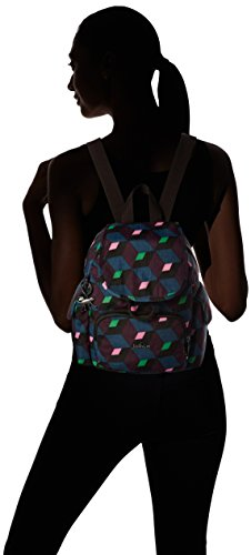 Kipling Women's City Pack Mini, Mehrfarbig (Bold Mirage), 27x29x14 Centimeters (B x H x T)