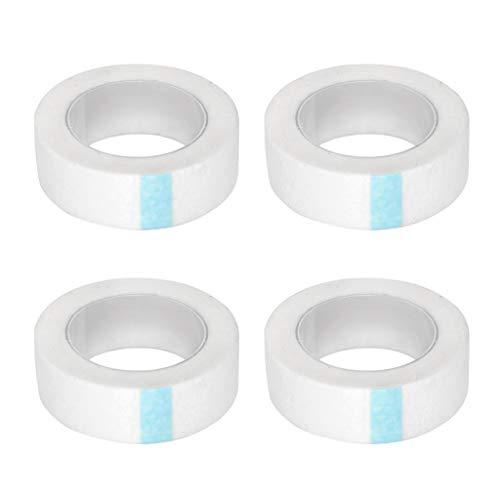 T TOOYFUL 4x Ruban en Papier Micropore pour Rallonges de Cils