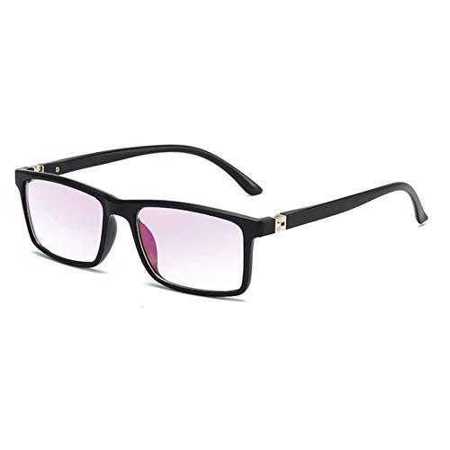 occhiali ingranditori CZYCWJ Occhiali da Lettura Anti Luce Blu Uomo Donna Occhiali ingranditori presbiti multifocali Occhiali da Vista diottrici a Vista lontana