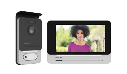 "PHILIPS WelcomeEye CONNECT - Videosprechanlage -2 Draht Technik - 7"" Touch-Display, incl. Smartphone App, DES 9900 VDP"