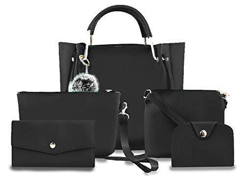 Handbags For Ladies Combo Of 5