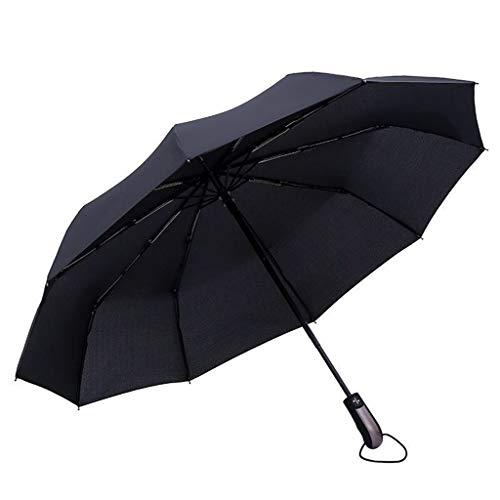 Paraplu stormbestendig I compacte zakparasol I winddicht tot 145 km/h, waterafstotend, klein, licht I stabiele paraplu met volautomatisch open tot automatisch, 105 cm zwart