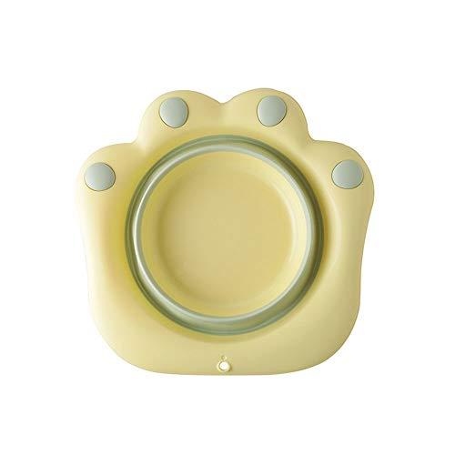 CROWNXZQ Lavabo Plegable portátil, baño para niños, Cara, pie, plástico Reutilizable, hogar, Viajes, bebé, Multiusos, Plegable, Ligero para el hogar