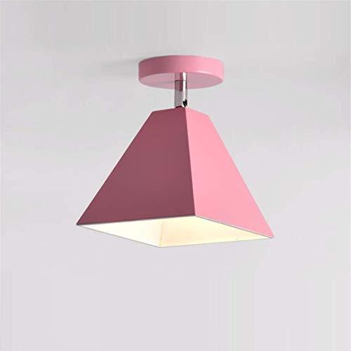 Thumby plafondlamp noords stijl kleine plafond lamp moderne moderne minimalistische Aisle Foyer licht roze foyer led slaapkamer Aisle licht