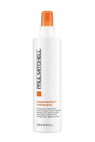 Paul Mitchell Color Protect Locking Spray - farbverlängernde Sprüh-Kur für coloriertes Haar, feuchtigkeitsspendendes Pflege-Spray, 250 ml
