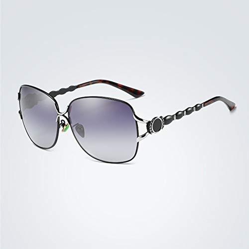 Gafas de sol polarizadas de moda para hombres y mujeres, gafas de sol con montura de comodidad ultraligera, protección UV para exteriores (02)