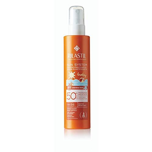 RILASTIL 63086 Sun System Baby Spray Trasparente SPF 50+, 200 ml