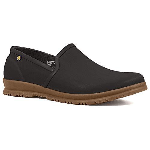 BOGS Women's Sweetpea Slip ON Rain Boot, Black, 8 M US
