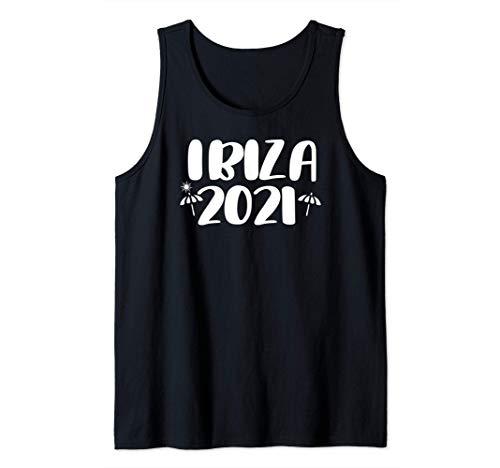 Ibiza 2021 Viaje de vacaciones regalo Camiseta sin Mangas