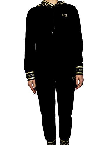 Emporio Armani 3KTV56TJ31Z - Chándal para mujer, color negro negro L