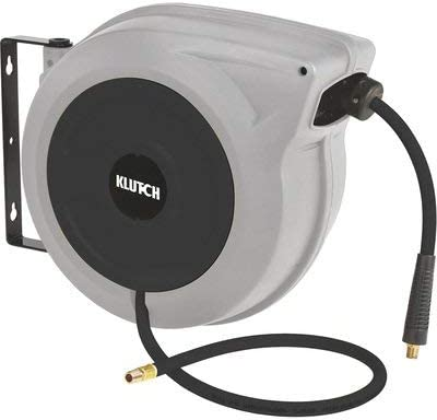 Klutch Heavy-Duty Auto Rewind Air Hose shop Reel 3 with 50ft - 8in. x Max 74% OFF