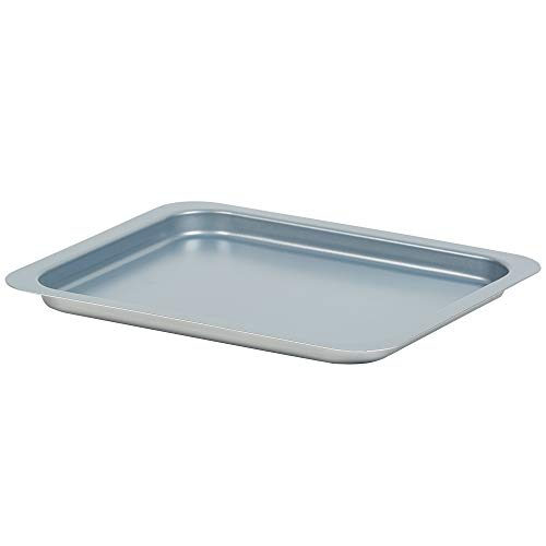 PowerXL Air Fryer Grill Baking Pan Replacement Part Accessory, Bake, Roast, Broil, or Cookie Sheet, 10.5 x 8.7 x .7 Inch, Stainless