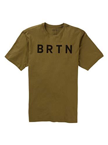 Burton Herren BRTN Short Sleeve Tee Athletische T-Shirts, Martini Olive, XX-Small
