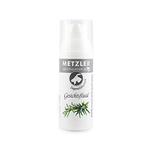 METZLER Ziegenmilch - Gesichtsfluid, Besonders Reich An Vitaminen Und Mineralstoffen, 1er Pack(1 x...