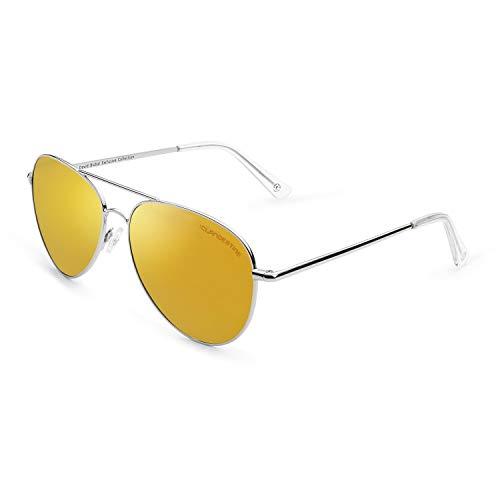 CLANDESTINE Gold - Gafas de Sol Polarizadas Hombre & Mujer