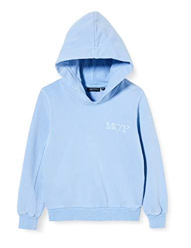 Marc O' Polo Kids Mädchen 1/1 Arm Sweatshirt, Blau (Cornflower Blue|Blue 3247), (Herstellergröße:98)
