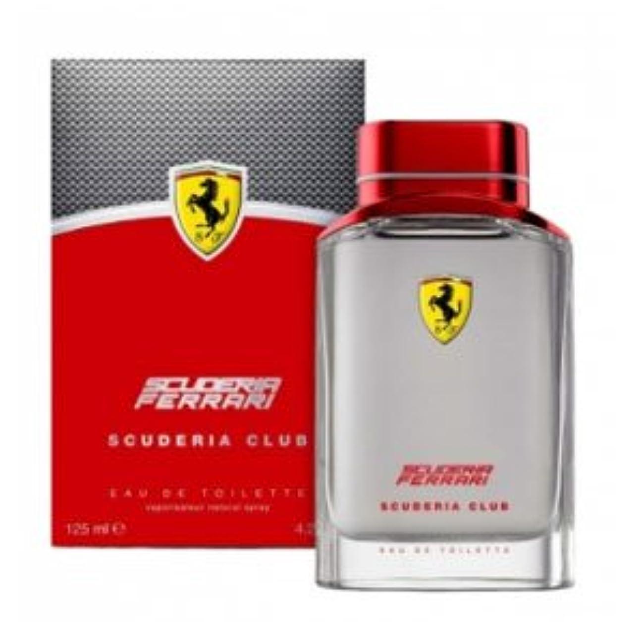 インシュレータびっくりする概してFerrari Scuderia Club (フェラーリ セキュデリア クラブ)  4.2 oz (125ml)  EDT Spray by Ferrari for Men