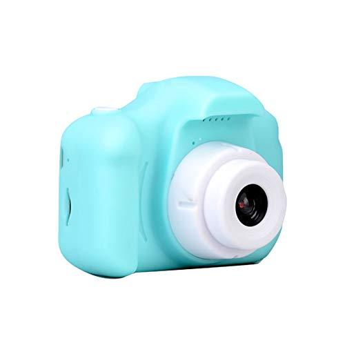 YQY Navidad Regalo de los niños para niños Juguetes educativos de la cámara para Regalo Mini cámara 1080P cámara Digital de proyección de vídeo con 2 Pulgadas de Pantalla de visualización,B