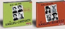 Marc-Uwe Kling 2 x als Hörbuch 8 CDs im Set (1. Die Känguru-Chroniken + 2. Das Känguru-Manifest)