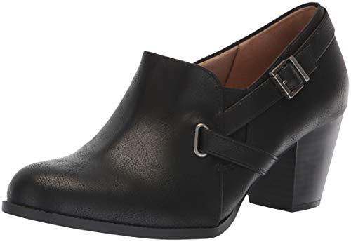 LifeStride Women's Jenson Ankle Boot, Black, 9 W US