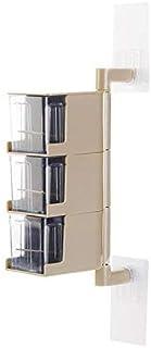 OJPOGHU Multi-Niveau 360 degrés Montoir Rotatif Spice Ross d'assaisonnement Boîte de Rangement Boîtier Organisateur Conten...