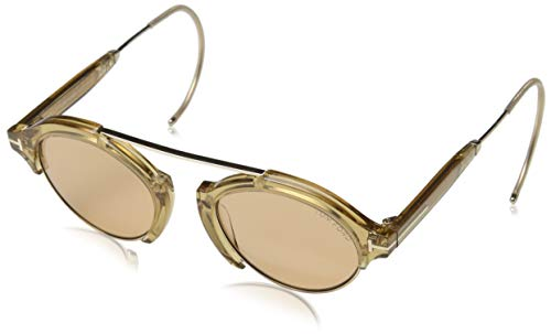 Tom Ford Sonnenbrille FT0631 45E 49 Occhiali da Sole, Oro (Gold), 49.0 Unisex-Adulto