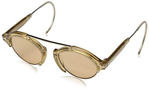 Tom Ford Sonnenbrille FT0631 45E 49 Gafas de sol, Dorado (Gold), 49.0 Unisex Adulto