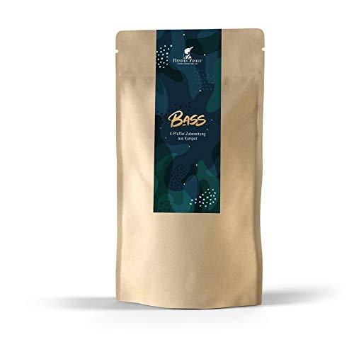 """Hennes Finest Kampot Pfeffermischung """"Bass"""" - Fermentierter Kampot Pfeffer (rot & grün), Schwarzer Kampot Pfeffer & langer roter Pfeffer, tolle Mischung hochwertiger Pfefferkörner (grob gemahlen),100g"""