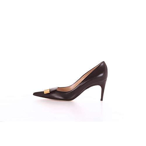 Sergio Rossi A78950MAGN05 Escarpins Femme Noir 39