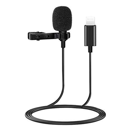 Interfaz de clip de cuello de micrófono Neckline mini comer entrevista de transmisión K canción grabación de pecho micrófono teléfono móvil micrófono