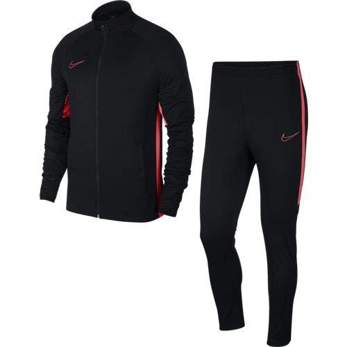 Nike Herren M NK Dry ACDMY TRK K2 Tracksuit, Black/Ember Glow, M