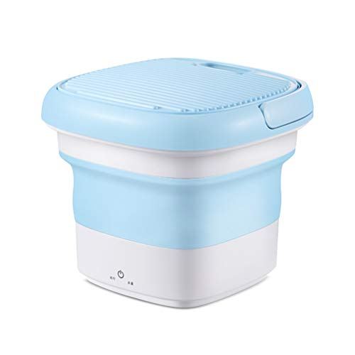 Hughdy Portable Washing Machine, Mini Foldable Washing...