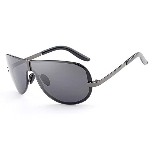 NBJSL Gafas De Sol Retro Polarizadas Sin Marco Para Hombres Y Mujeres - Gafas De Sol Clásicas Con Protección Uv (Caja De Embalaje Exquisita)