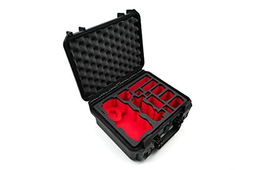 """DJI Mavic 1 Pro e Platinum (non per Mavic 2) """"Travel Edition"""" Valigetta Valigia professionale da Outdoor IP67 – con spazio 5 Battery per tanti accessori. Outdoor Case. Custodia rigida."""