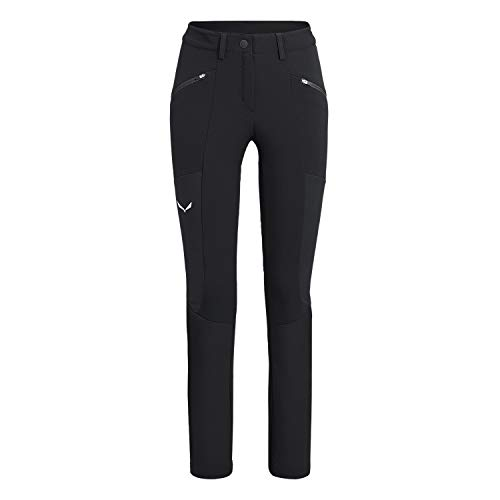 Salewa Puez DST/Wo W Pantalon Femme, Nero (Black Out), 46/40