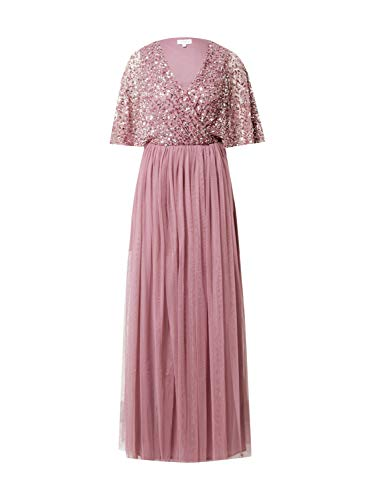 Maya Deluxe Damen Abendkleid rosa 8 (36)