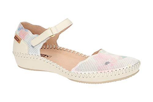 Pikolinos 655-PR0696 White - Sandalias de Vestir de Piel Lisa para Mujer,...