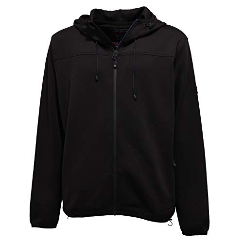 3543K Felpa Uomo U.S. POLO ASSN. Black Full Zip Sweatshirt Man [XXL]